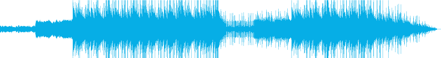 808's、ヒップホップ、トラップビートの再生済みの波形