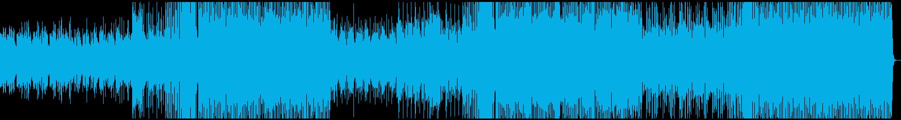 トロピカルハウス チル 洋楽の再生済みの波形