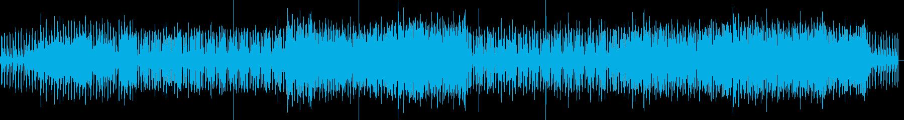 ハウスロックギターリフ。の再生済みの波形