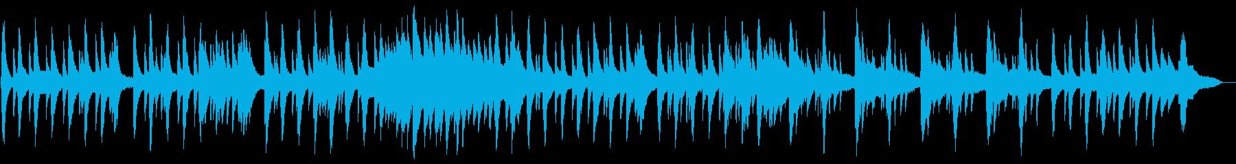 映像・ナレーション用ピアノ演奏(帰り道)の再生済みの波形