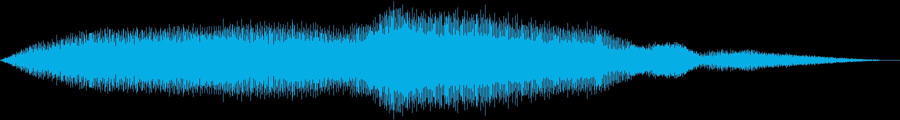 スタントプレーンダイビング(曲技飛...の再生済みの波形