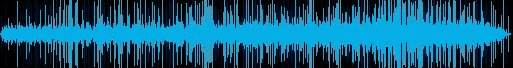 火のパチパチ(重いパチパチ)の再生済みの波形
