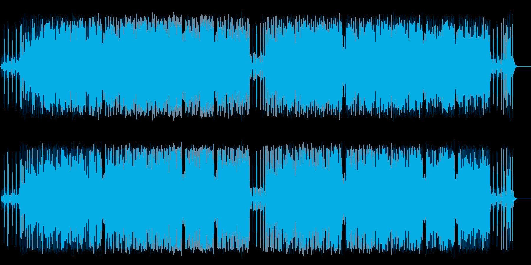 のんびりした童謡風ポップ(フルサイズ)の再生済みの波形