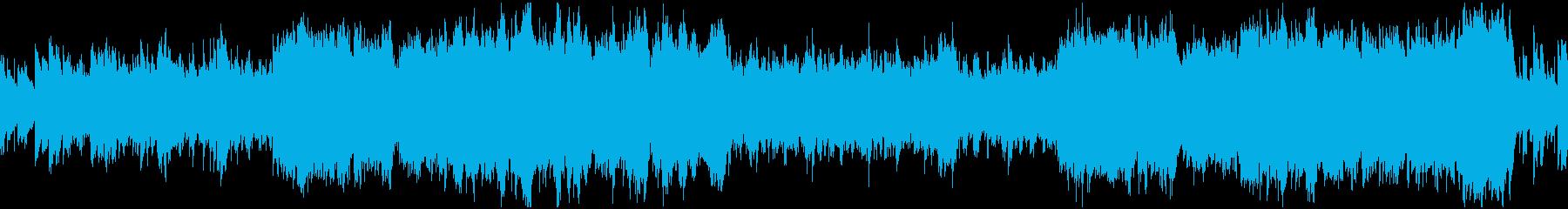爽やかなフィールド探索系BGMの再生済みの波形