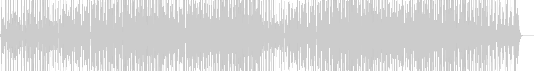 ファンキーなギターのショーリー向け楽曲の未再生の波形