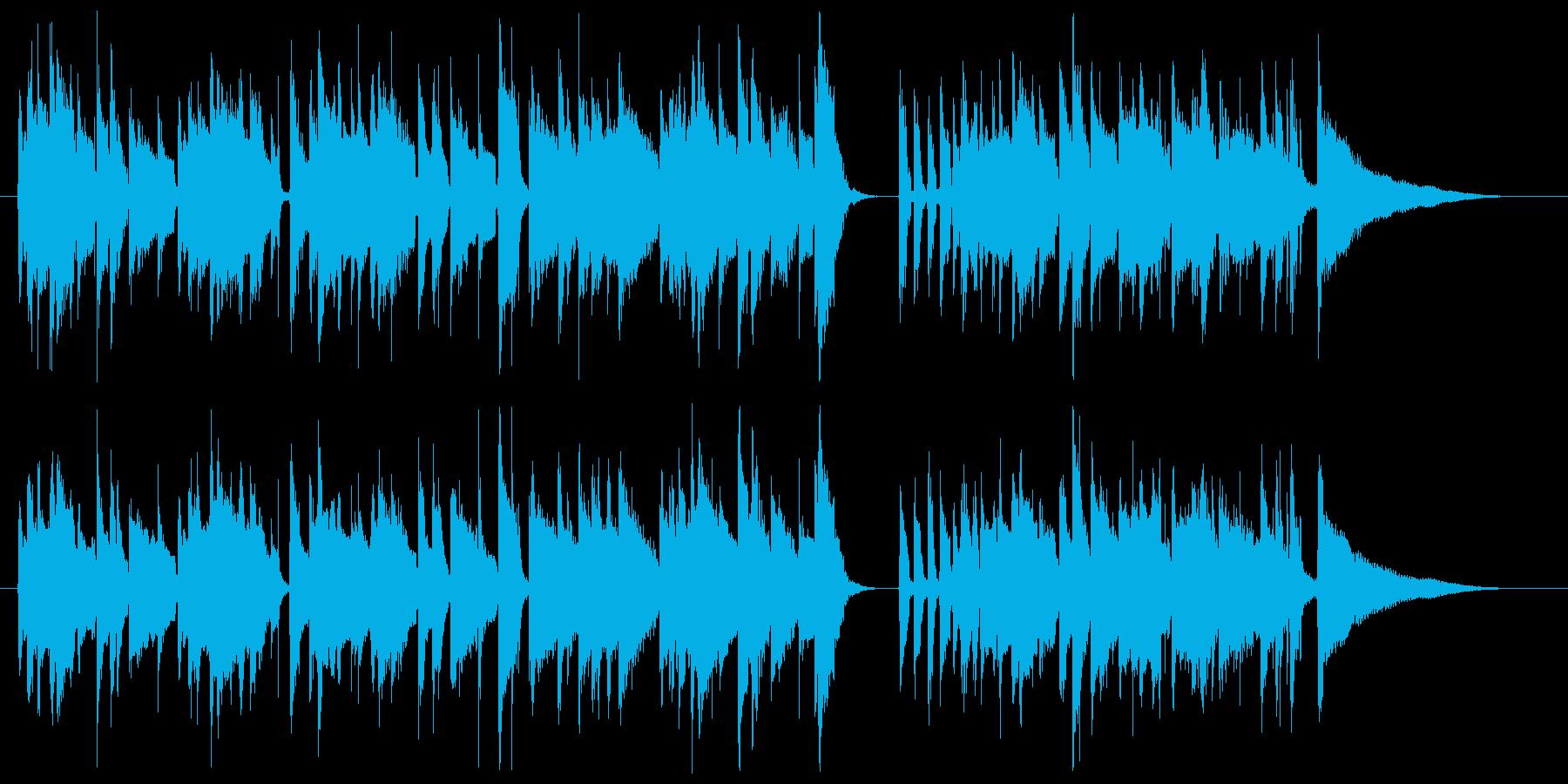 サラサラ ジャズ ブルース カント...の再生済みの波形