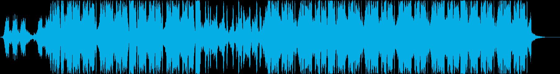 ヒップホップ、チル、背景の再生済みの波形