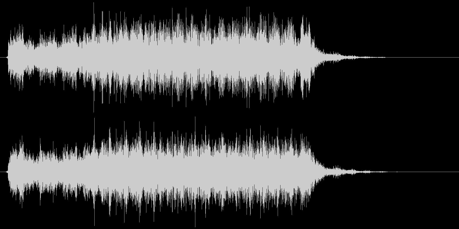 CDドライブ 読み込み(キュルル…キッ)の未再生の波形