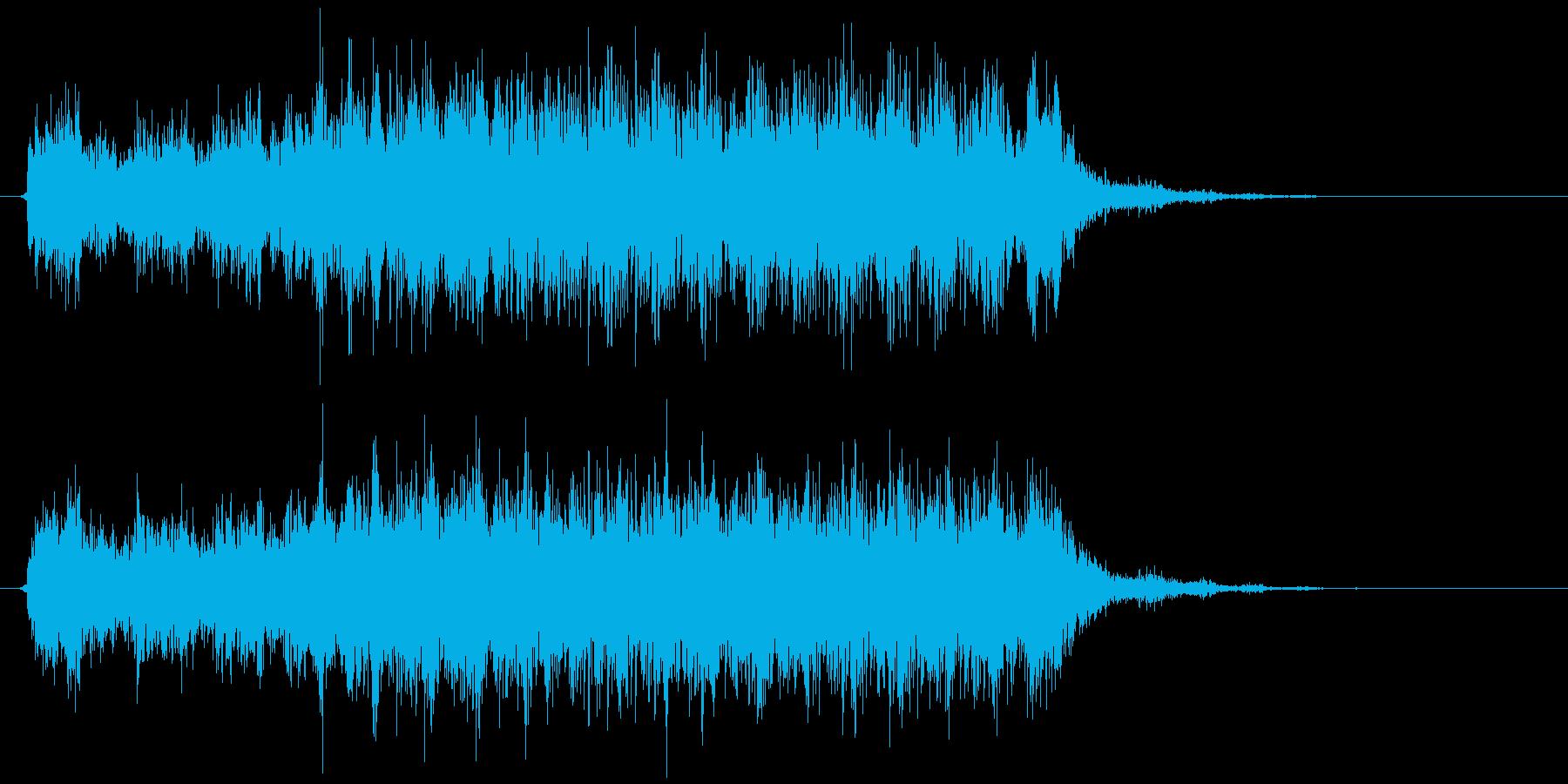 CDドライブ 読み込み(キュルル…キッ)の再生済みの波形