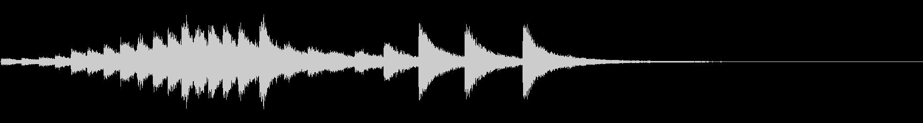 『カンカンカン・・』韓国ドラの抑揚連打音の未再生の波形