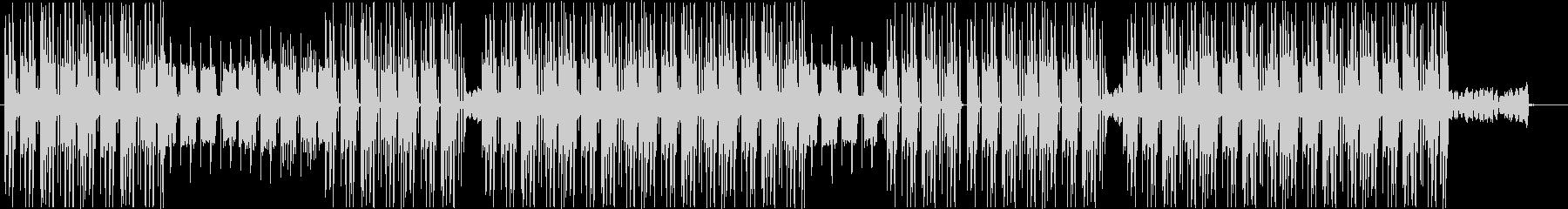 洋楽、トラップソウル、R&Bビート♫の未再生の波形