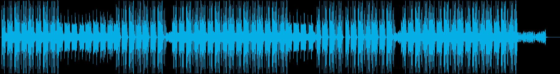 洋楽、トラップソウル、R&Bビート♫の再生済みの波形