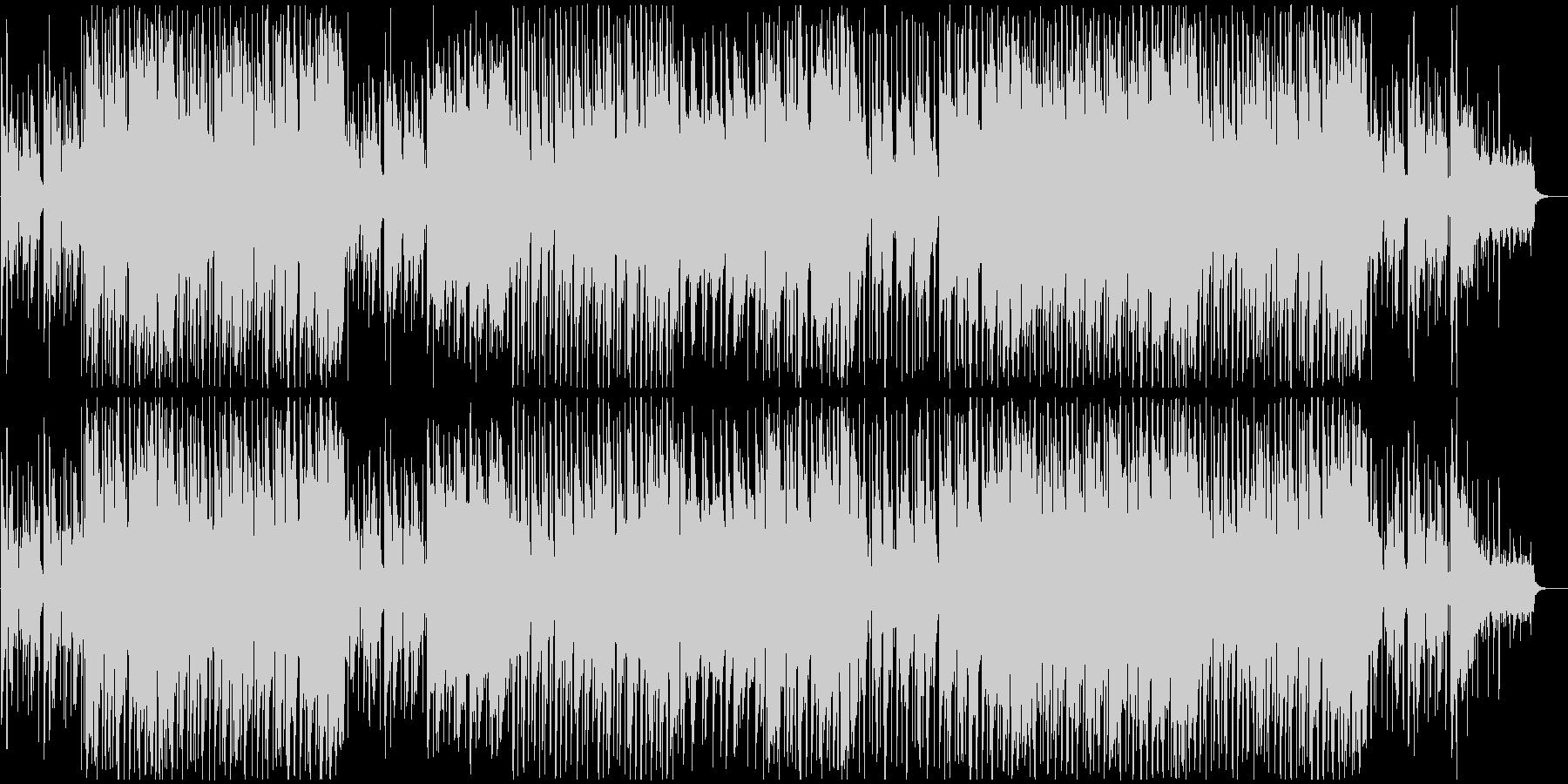妖しく物悲しいCHILL系のHIPHOPの未再生の波形