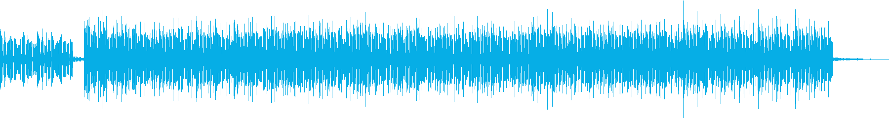 OP映像などに使えるエレクトロニカの再生済みの波形