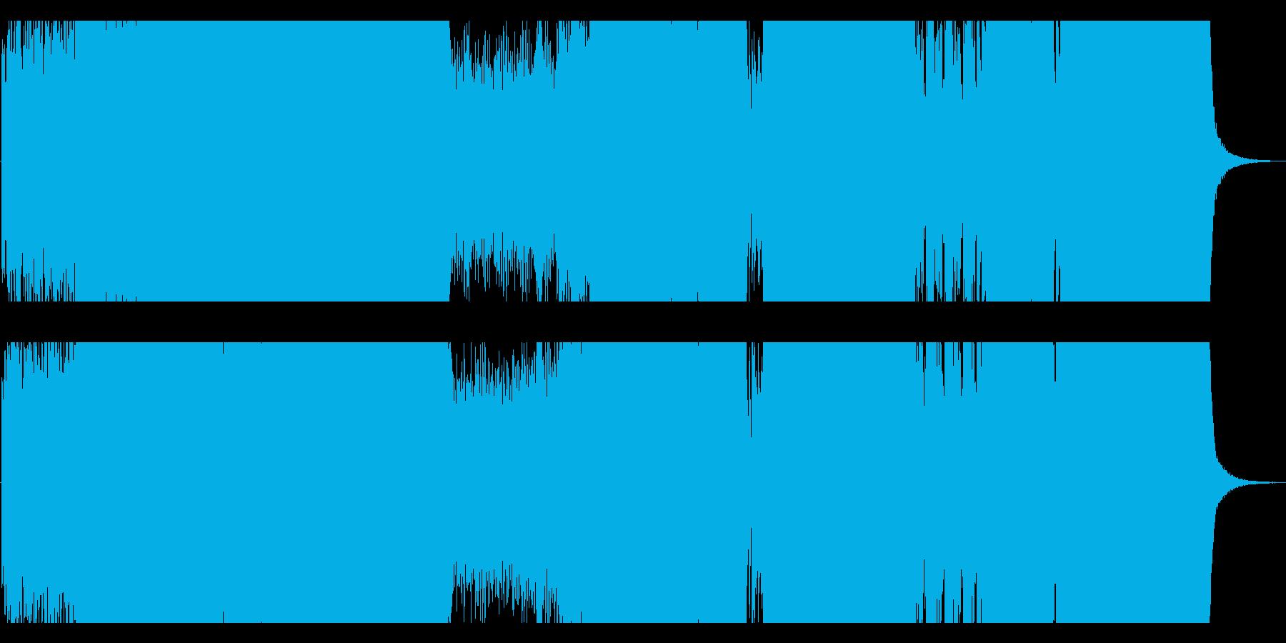 和風ヘヴィモダンの再生済みの波形