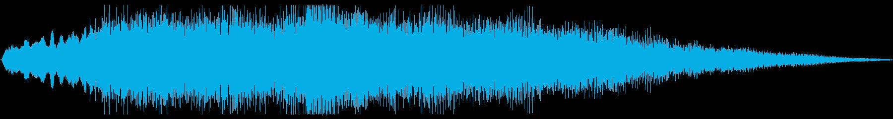 ハッピーバースデー オーケストラの再生済みの波形