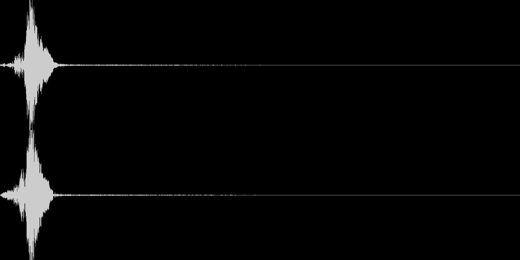 シーンの切り替え(場面転換)の未再生の波形