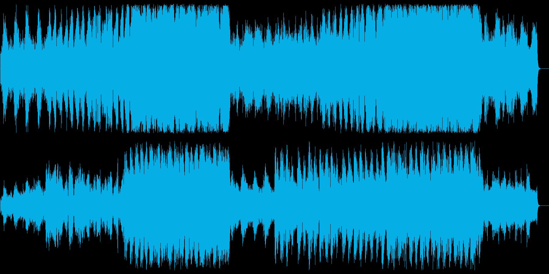 緩やかで不思議なスピリチュアルサウンドの再生済みの波形