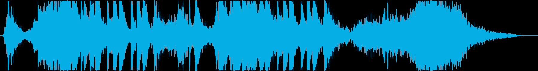 トレーラー/シンセ+打楽器*奇妙・不思議の再生済みの波形