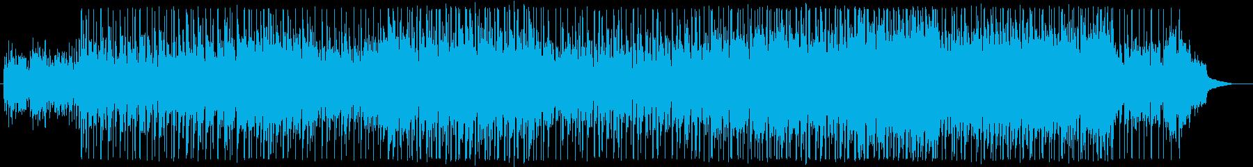 背景をポップします。オーケストラ。の再生済みの波形