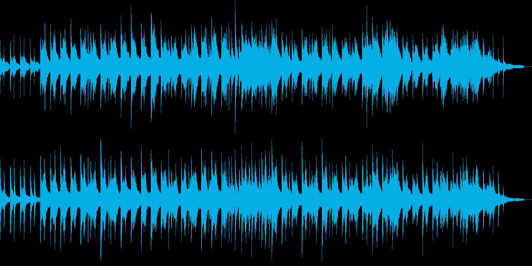 ピアノソロ・雨の日の湿度の高さの再生済みの波形