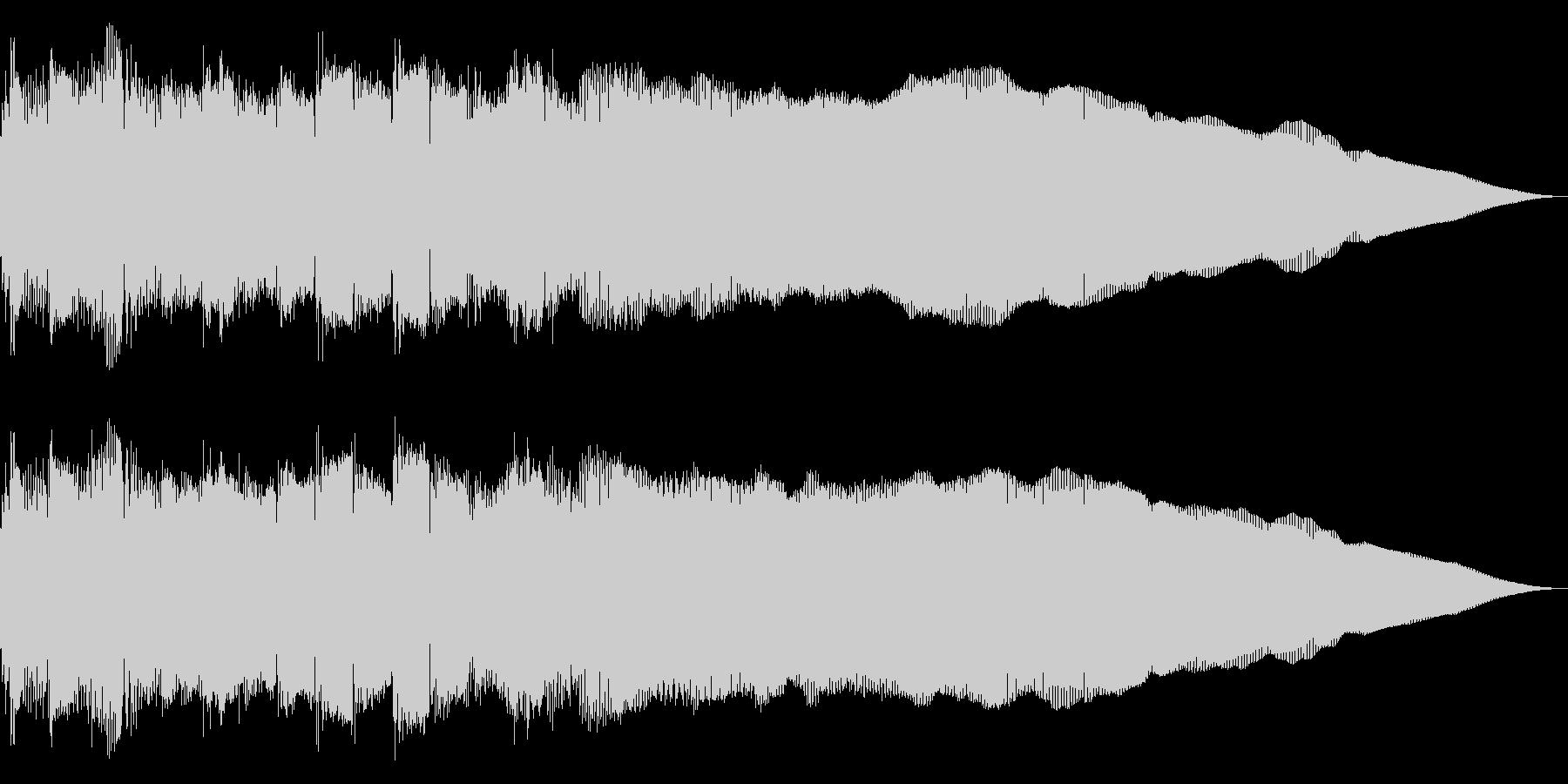 ネオクラシカルなメタルギター・フレーズの未再生の波形