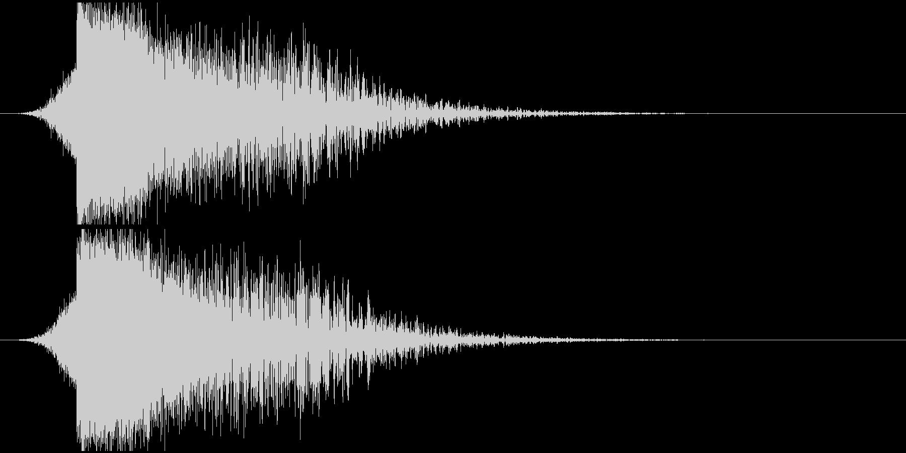 パワージングル シンセ SE4の未再生の波形
