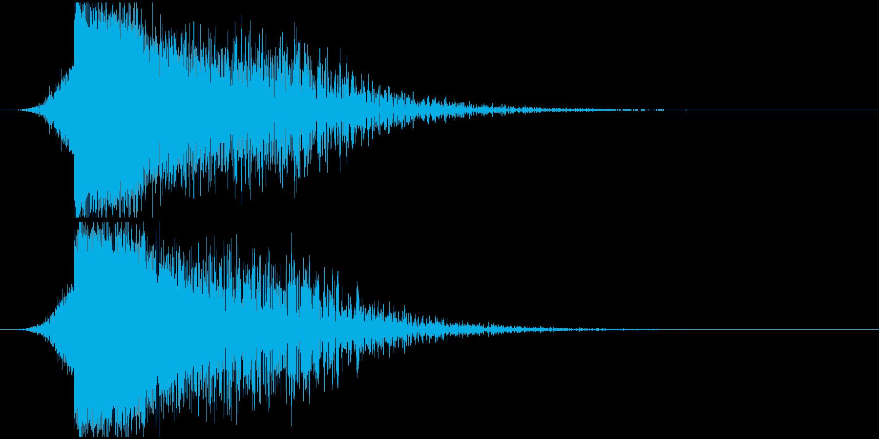 パワージングル シンセ SE4の再生済みの波形