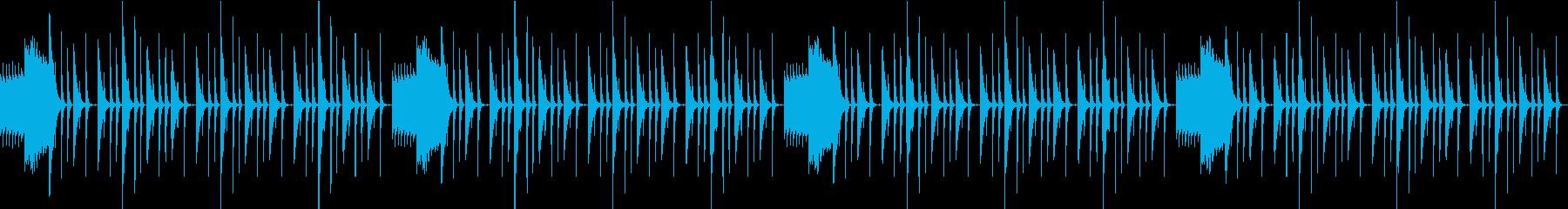 クイズ、シンキングタイム、ループ素材の再生済みの波形