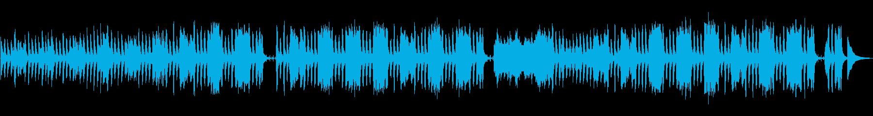 ほのぼのポップな日常BGMの再生済みの波形