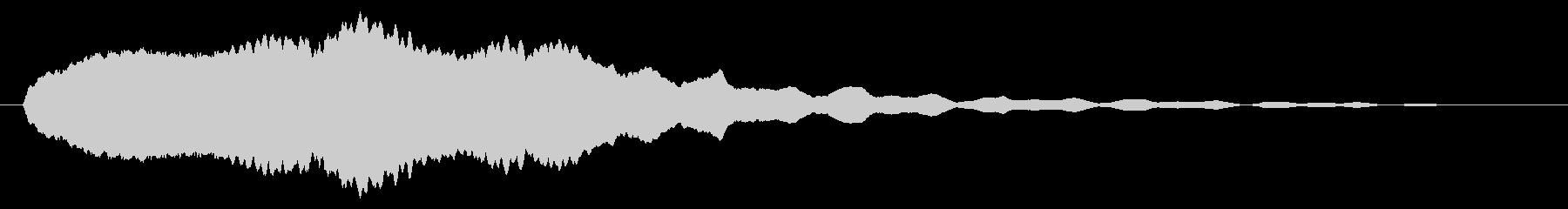 素材 大気フィードバックシンセサイ...の未再生の波形
