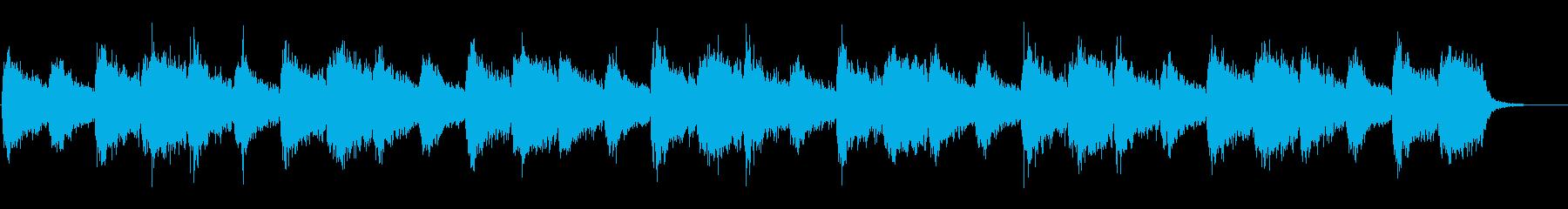 厳かな雰囲気のアンビエント(神殿、洞窟)の再生済みの波形