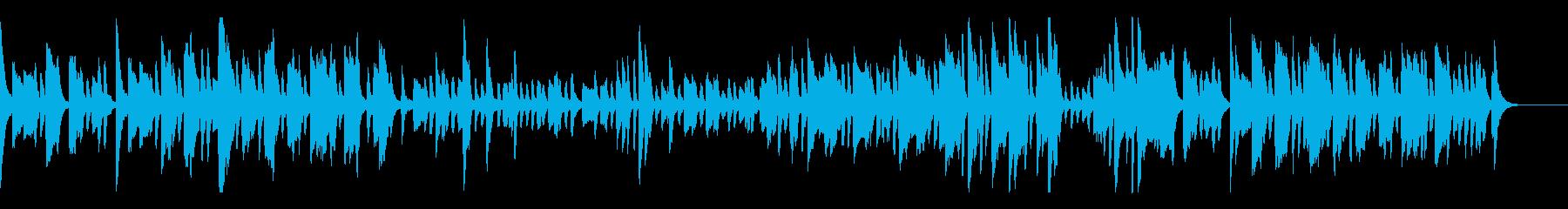 跳ねる日本のお祭り-ピアノソロの再生済みの波形