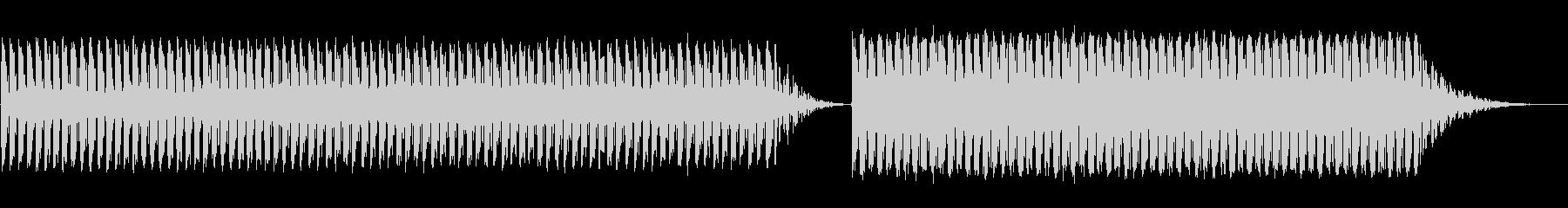 【Lofi】とにかくやかましいアラーム音の未再生の波形
