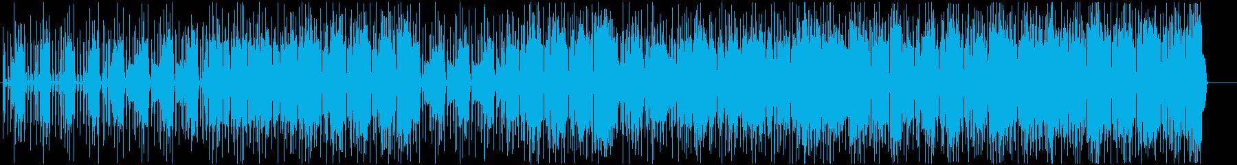 ストレートでカッコいいロック調ポップスの再生済みの波形