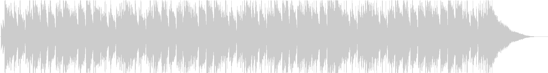 ジャズ、ボサノバ、ラウンジの未再生の波形