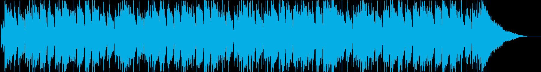 ジャズ、ボサノバ、ラウンジの再生済みの波形