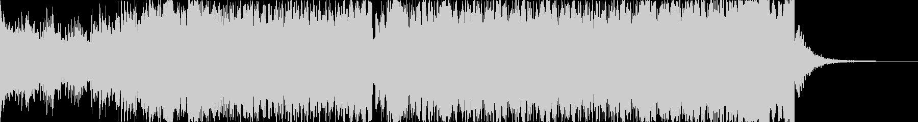 【1分版】パワフルで高揚感ピアノEDMの未再生の波形