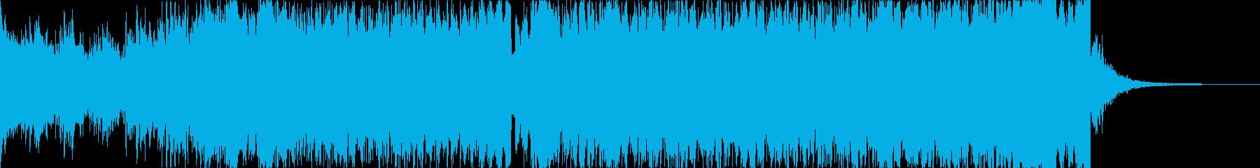 【1分版】パワフルで高揚感ピアノEDMの再生済みの波形