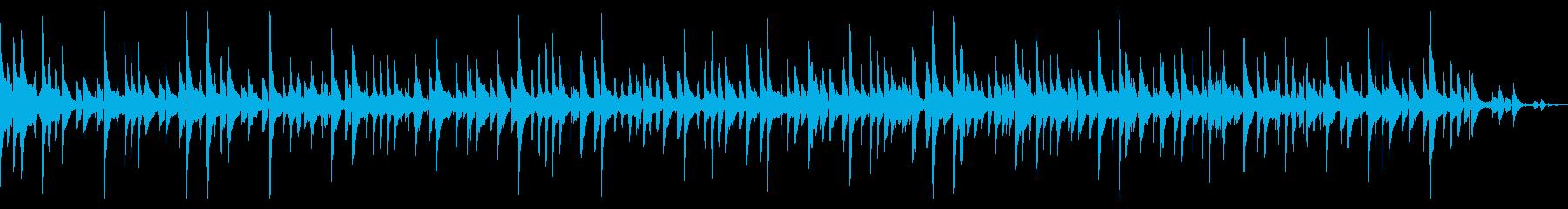 【生演奏】月、まったり、ワルツの再生済みの波形