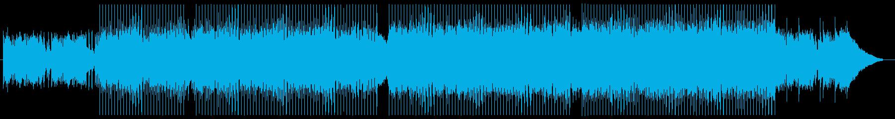 企業PV・結婚式等キラキラピアノインストの再生済みの波形