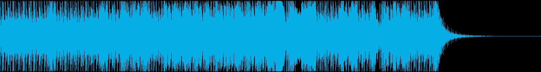 陽気なストリングテクノ(強スイング)の再生済みの波形