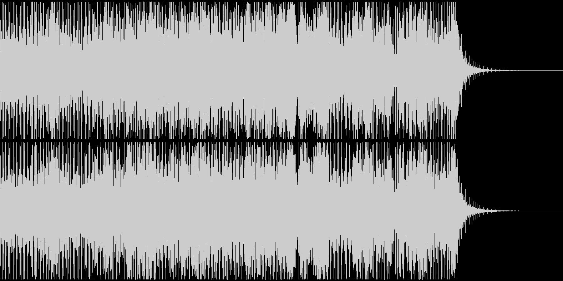 陽気なストリングテクノ(強スイング)の未再生の波形