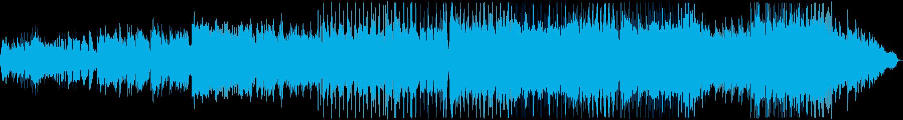 優しい雰囲気のバラード5の再生済みの波形