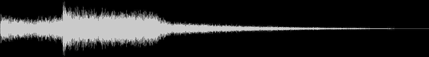 ハイテクドアコンプ2の未再生の波形