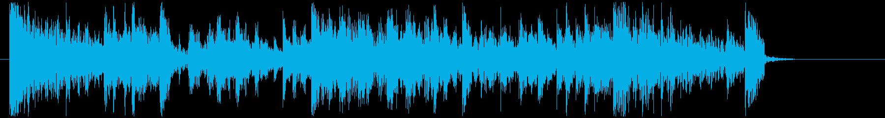 【ジングル】映画風 パーカッション5の再生済みの波形