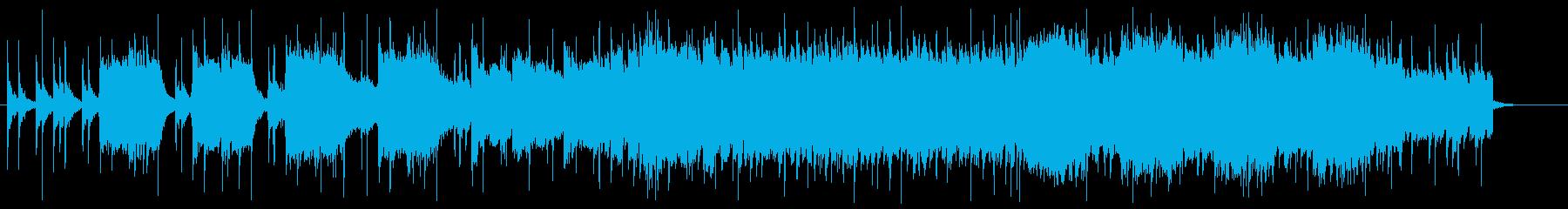 CM向けロックアンセムの再生済みの波形