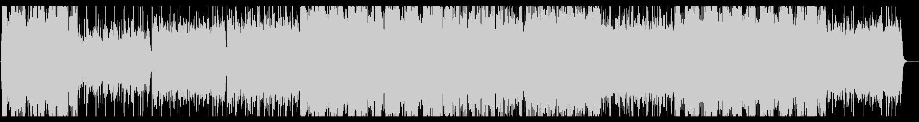 ピアノとストリングスのゆったりしたBGMの未再生の波形