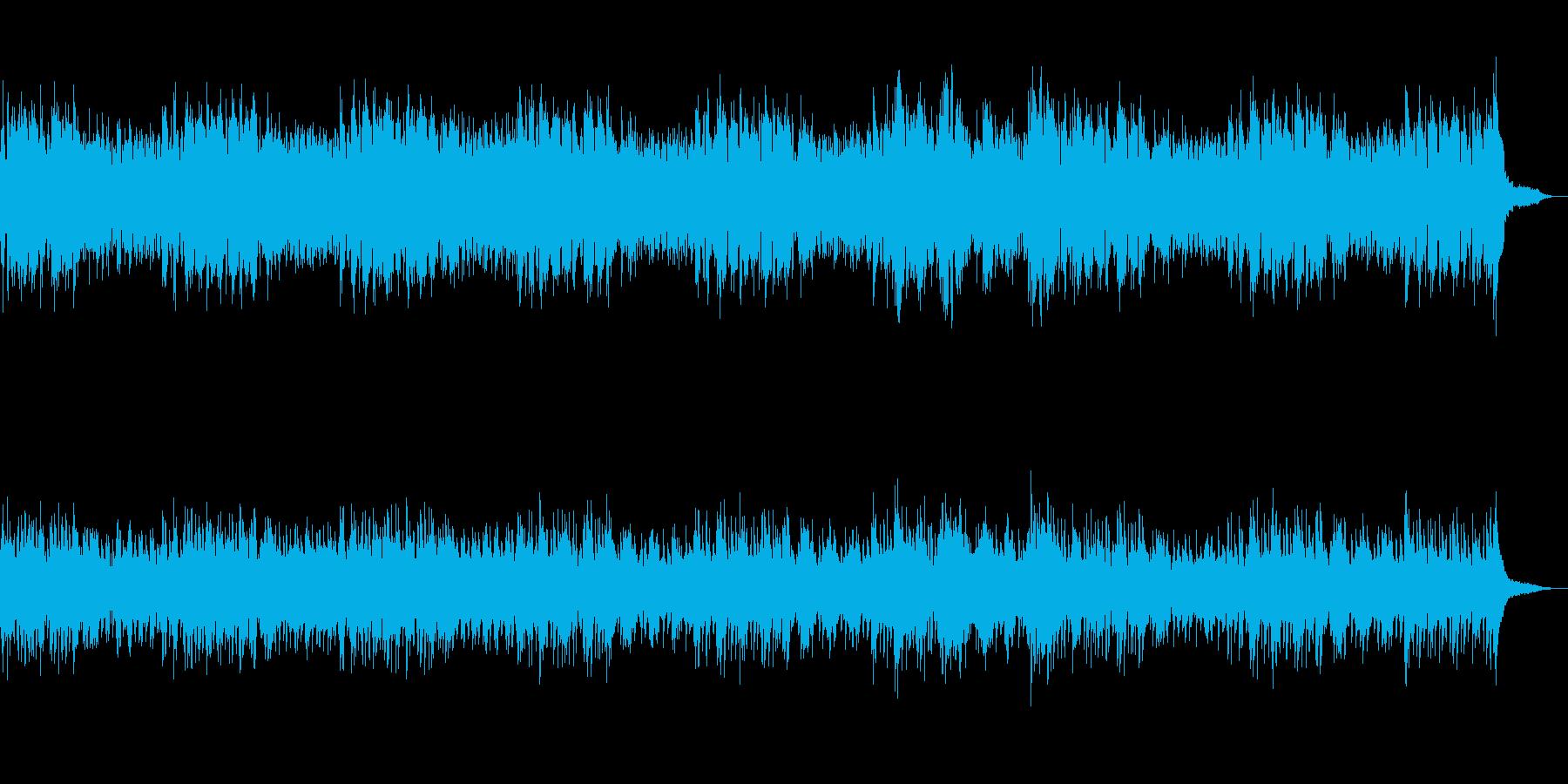 伝説の夜明け 神々のハープの再生済みの波形