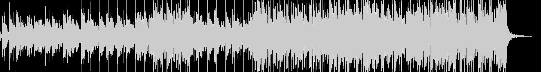 スライドバーを使ったアコギのブルース曲 の未再生の波形